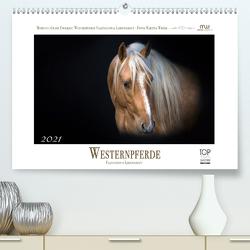 Westernpferde – Faszination und Leidenschaft (Premium, hochwertiger DIN A2 Wandkalender 2021, Kunstdruck in Hochglanz) von Wrede,  Martina