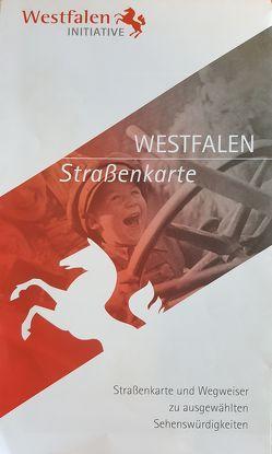 Westfalen-Straßenkarte