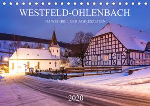 Westfeld-Ohlenbach im Wechsel der Jahreszeiten (Tischkalender 2020 DIN A5 quer) von Bücker,  Heidi