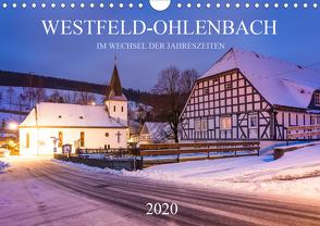 Westfeld-Ohlenbach im Wechsel der Jahreszeiten (Wandkalender 2020 DIN A4 quer) von Bücker,  Heidi