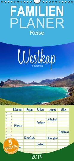 Westkap Südafrika – Familienplaner hoch (Wandkalender 2019 , 21 cm x 45 cm, hoch) von Becker,  Stefan