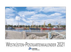 Westküsten-Postkartenkalender 2021 von Lau,  Ingo