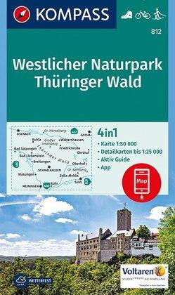 Westlicher Naturpark Thüringer Wald von KOMPASS-Karten GmbH