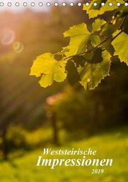 Weststeirische Impressionen (Tischkalender 2019 DIN A5 hoch) von Dzierzawa,  Judith
