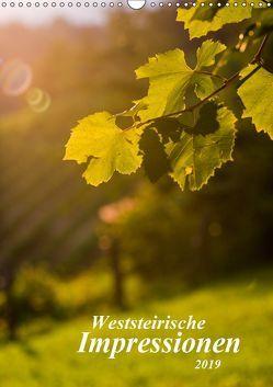 Weststeirische Impressionen (Wandkalender 2019 DIN A3 hoch) von Dzierzawa,  Judith
