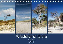 Weststrand Darß (Tischkalender 2018 DIN A5 quer) von Deter,  Thomas