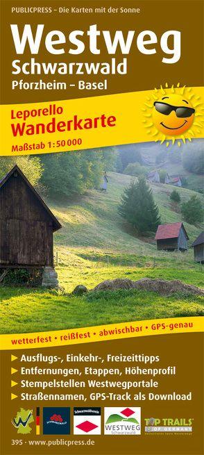 Westweg Schwarzwald, Pforzheim – Basel