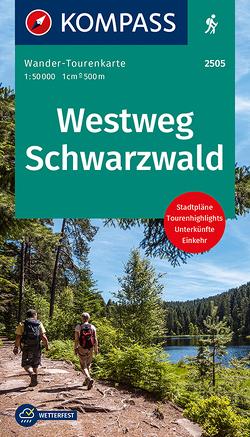 Westweg Schwarzwald von KOMPASS-Karten GmbH