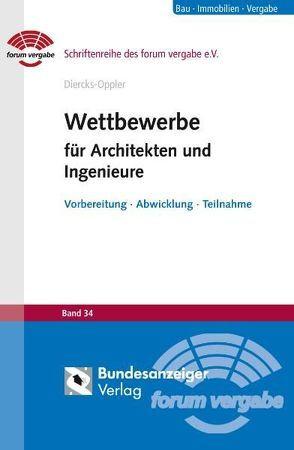 Wettbewerbe für Architekten und Ingenieure von Diercks-Oppler,  Gritt