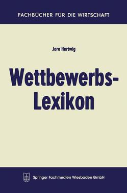Wettbewerbs-Lexikon von Hertwig,  Joro