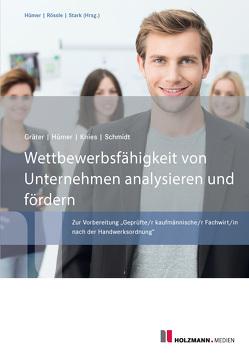 Wettbewerbsfähigkeit von Unternehmen analysieren und fördern von Gräter,  Christoph, Hümer,  Bernd-Michael, Knies,  Prof. Dr. Jörg, Schmidt,  Prof. Dr. Evelin