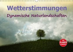 Wetterstimmungen. Dynamische Naturlandschaften (Wandkalender 2018 DIN A3 quer) von Brunner-Klaus,  Liselotte