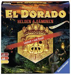 Wettlauf nach El Dorado Helden & Dämonen von Knizia,  Reiner