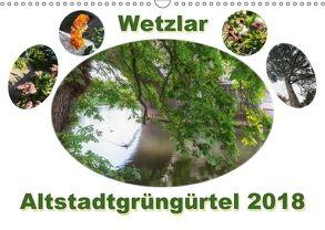 Wetzlar Altstadtgrüngürtel (Wandkalender 2018 DIN A3 quer) von Wally