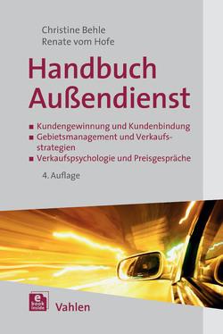 wHandbuch Außendienst von Behle,  Christine, Hofe,  Renate vom