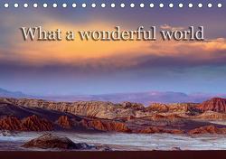 What a wonderful world (Tischkalender 2021 DIN A5 quer) von Voss,  Michael
