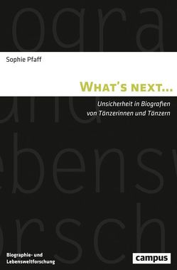 What's next… von Pfaff,  Sophie