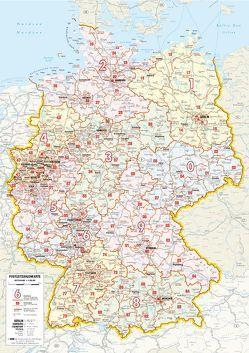 Whireboard Postleitkarte Deutschland
