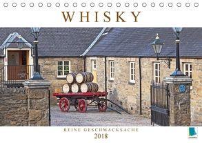 Whisky: Reine Geschmacksache (Tischkalender 2018 DIN A5 quer) von CALVENDO,  k.A.