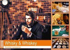 Whisky und Whiskey 2019. Sinnliche Impressionen (Wandkalender 2019 DIN A3 quer) von Lehmann (Hrsg.),  Steffani