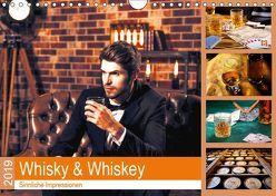 Whisky und Whiskey 2019. Sinnliche Impressionen (Wandkalender 2019 DIN A4 quer) von Lehmann (Hrsg.),  Steffani