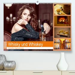 Whisky und Whiskey 2020. Sinnliche Impressionen (Premium, hochwertiger DIN A2 Wandkalender 2020, Kunstdruck in Hochglanz) von Lehmann (Hrsg.),  Steffani