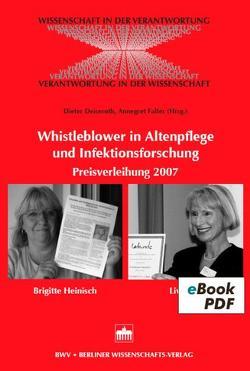 Whistleblower in Altenpflege und Infektionsforschung von Deiseroth,  Dieter, Falter,  Annegret