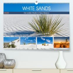 WHITE SANDS Die weiße Wüste in New Mexico (Premium, hochwertiger DIN A2 Wandkalender 2020, Kunstdruck in Hochglanz) von Viola,  Melanie