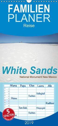 White Sands – National Monument – New Mexico – Familienplaner hoch (Wandkalender 2019 , 21 cm x 45 cm, hoch) von Schneider,  Petra
