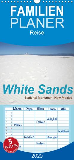 White Sands – National Monument – New Mexico – Familienplaner hoch (Wandkalender 2020 , 21 cm x 45 cm, hoch) von Schneider,  Petra