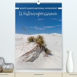 WHITE SANDS NATIONAL MONUMENT Wüstenimpressionen (Premium, hochwertiger DIN A2 Wandkalender 2020, Kunstdruck in Hochglanz) von Viola,  Melanie