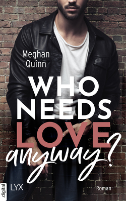 Who Needs Love Anyway? von Karamustafa,  Melike, Quinn,  Meghan