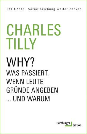 Why? von Tilly,  Charles