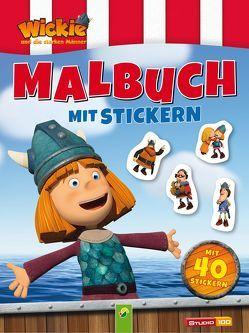 Wickie und die starken Männer – Malbuch mit 40 Stickern
