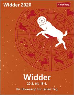 Widder Kalender 2020 von Harenberg, Satorius,  Robert