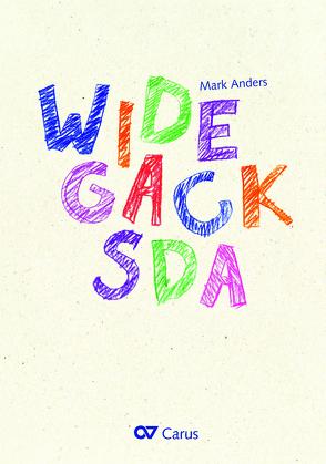 Widegacksda (Partitur) von Anders,  Mark