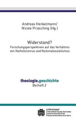 Widerstand? von Henkelmann,  Andreas, Priesching,  Nicole