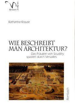 Wie beschreibt man Architektur? von Krause,  Katharina