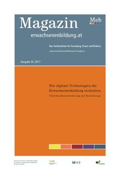 Wie digitale Technologien die Erwachsenenbildung verändern von Röthler, David, Schön, Sandra