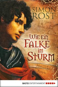 Wie ein Falke im Sturm von Rost,  Simon X.