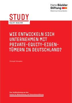 Wie entwickeln sich Unternehmen mit Private-Equity-Eigentümern in Deutschland? von Scheuplein,  Christoph