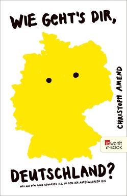 Wie geht's dir, Deutschland? von Amend,  Christoph