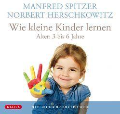 Die Neurobibliothek: Wie kleine Kinder lernen von Herschkowitz,  Norbert, Spitzer,  Manfred