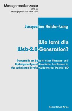 Wie lernt die Web-2.0-Generation? von Heider-Lang,  Jacqueline
