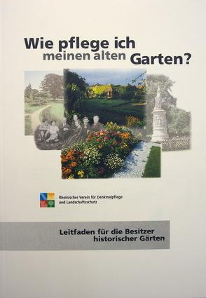 Wie pflege ich meinen alten Garten? von Precht-von Taboritzki,  Barbara, Wiemer,  Karl P