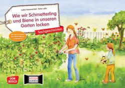 Wie wir Schmetterling und Biene in unseren Garten locken. Kamishibai Bildkartenset. von Hauenschild,  Lydia, Lefin,  Petra