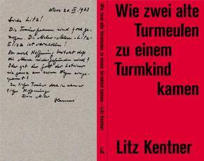 Wie zwei alte Turmeulen zu einem Turmkind kamen von Kentner,  Litz