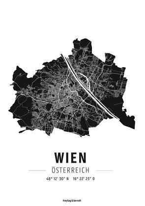 Wien, Designposter, Hochglanz-Fotopapier