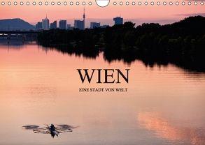 WIEN – EINE STADT VON WELTAT-Version (Wandkalender 2018 DIN A4 quer) von Schieder Photography aka Creativemarc,  Markus