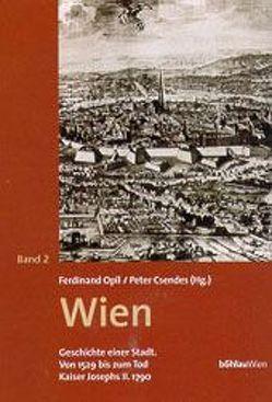 Wien. Geschichte einer Stadt / Wien – Geschichte einer Stadt, Band 2 von Csendes,  Peter, Opll,  Ferdinand, Traninger,  Anita, Vocelka,  Karl
